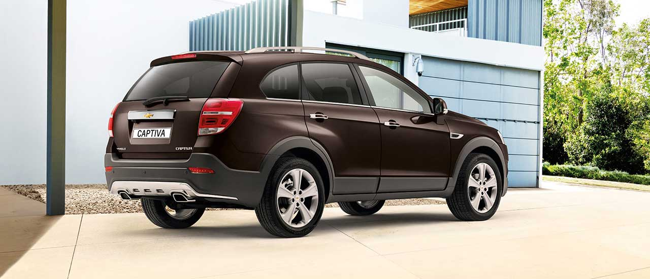 Chevrolet Captiva, 7-seater SUV