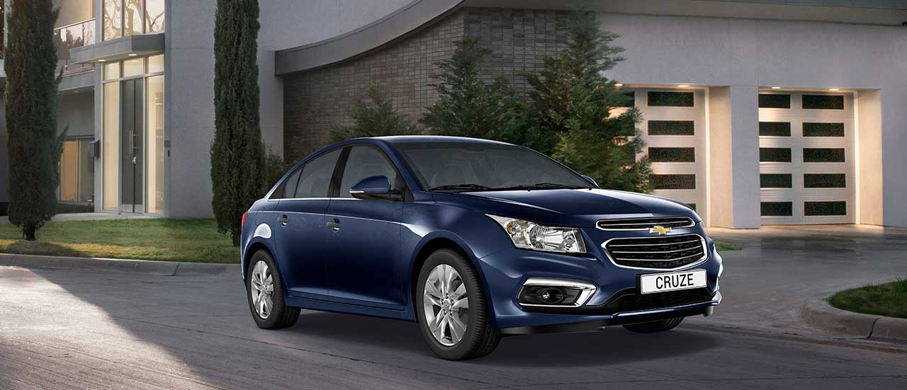 Chevrolet Cruze 4 door, family car