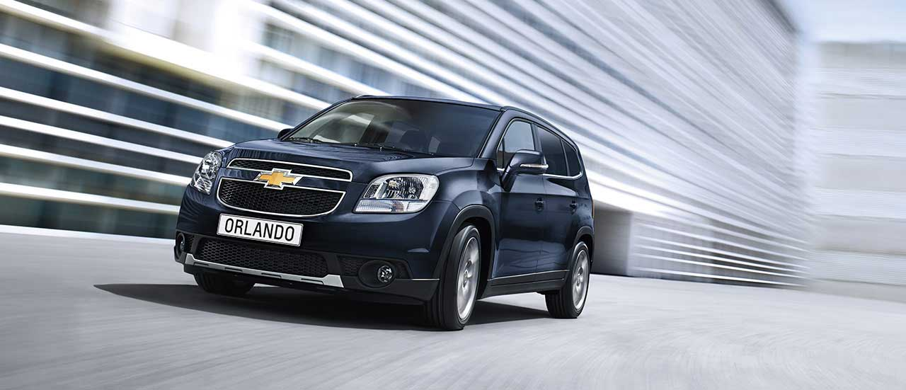 Chevrolet Orlando, 7-seater crossover